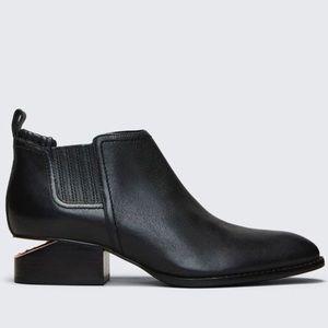 ALEXANDER WANG Metal-Inset Kori Boots